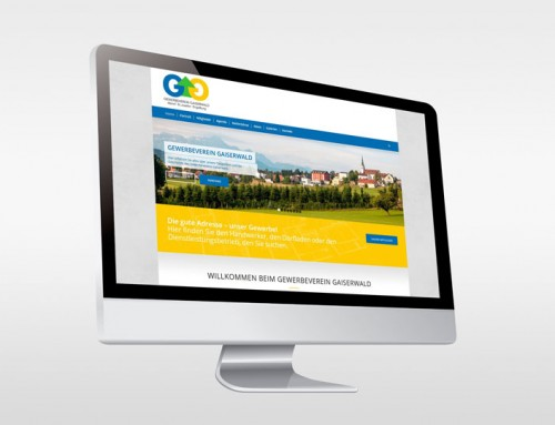 Umfangreiche Website für den Gewerbeverein Gaiserwald
