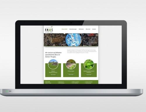 Knaus GmbH Webseite